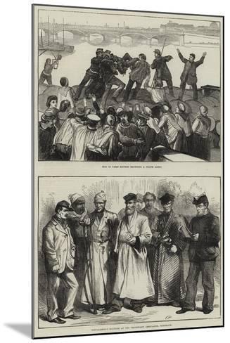 Franco-Prussian War--Mounted Giclee Print