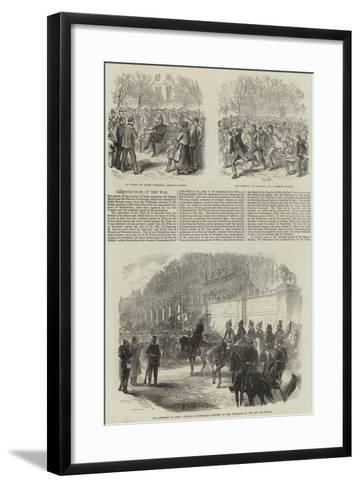 Franco-Prussian War--Framed Art Print