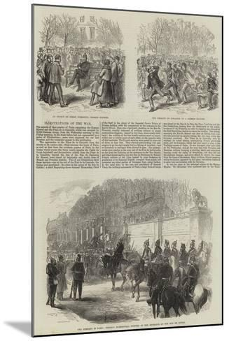 Franco-Prussian War--Mounted Giclee Print