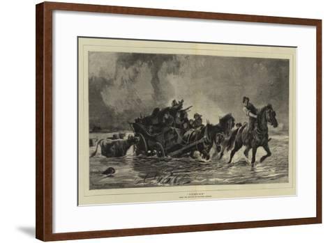 Rescued--Framed Art Print