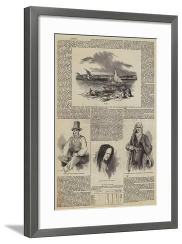 Toronto--Framed Art Print
