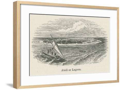 Atoll or Lagoon--Framed Art Print