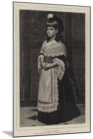 Little Wisdom--Mounted Giclee Print