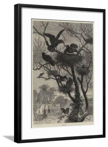 Rebuilding--Framed Art Print