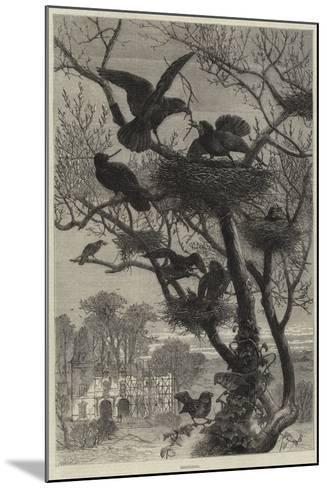 Rebuilding--Mounted Giclee Print