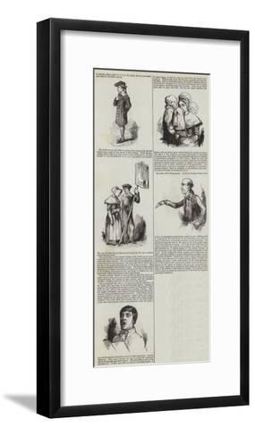 London Charities--Framed Art Print