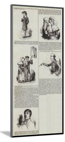 London Charities--Mounted Giclee Print