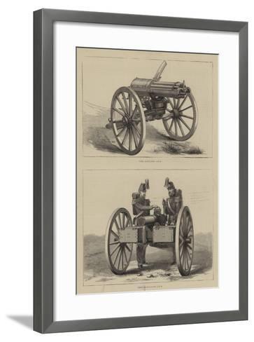 Military Weapons--Framed Art Print