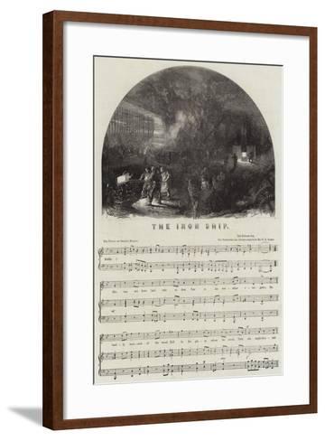 The Iron Ship--Framed Art Print