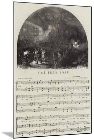 The Iron Ship--Mounted Giclee Print