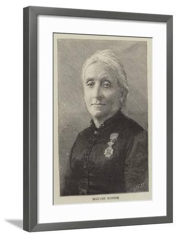Madame Ronner--Framed Art Print