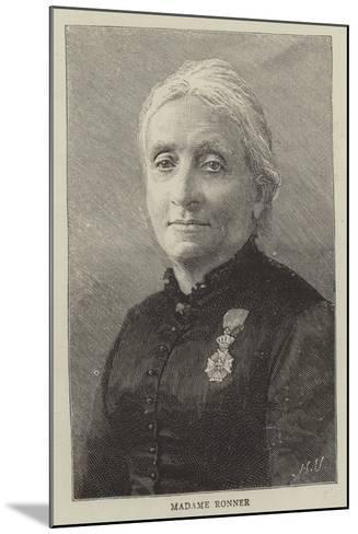 Madame Ronner--Mounted Giclee Print