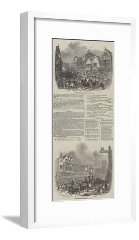 Chester Races--Framed Art Print