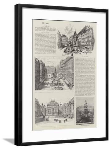 Vienna--Framed Art Print
