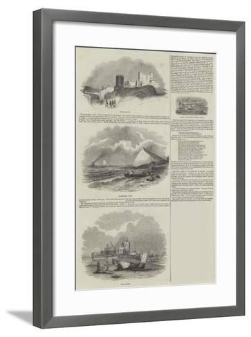 Sketches of Kent--Framed Art Print