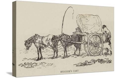 Higgler's Cart--Stretched Canvas Print
