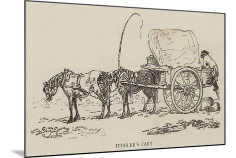 Higgler's Cart--Mounted Giclee Print