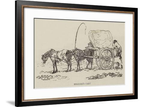Higgler's Cart--Framed Art Print