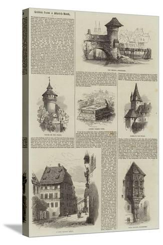 Nuremberg--Stretched Canvas Print