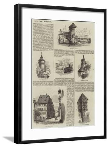 Nuremberg--Framed Art Print