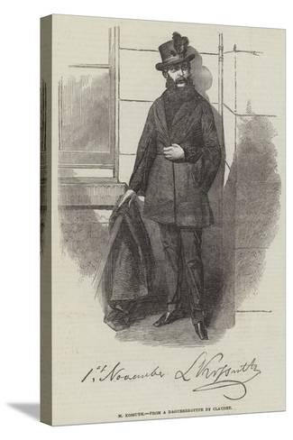 M Kossuth--Stretched Canvas Print