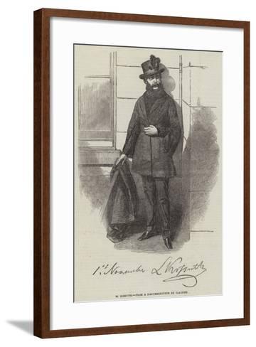 M Kossuth--Framed Art Print
