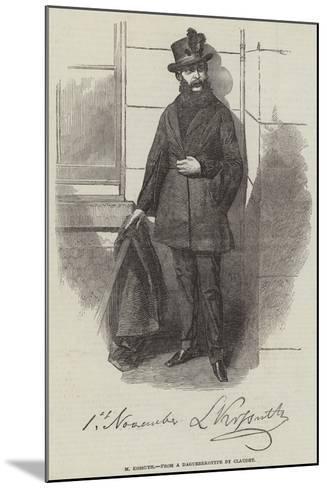 M Kossuth--Mounted Giclee Print