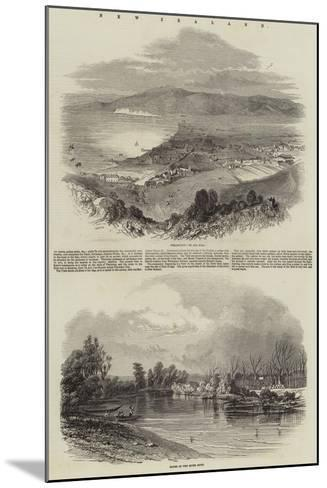 New Zealand--Mounted Giclee Print