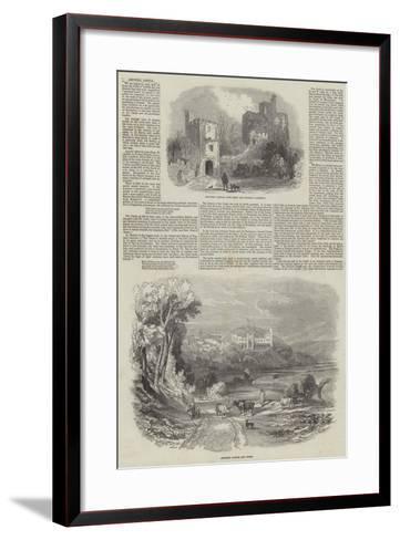 Arundel Castle--Framed Art Print