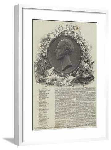 Earl Grey--Framed Art Print