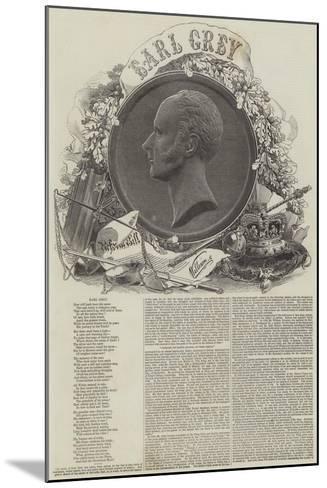 Earl Grey--Mounted Giclee Print