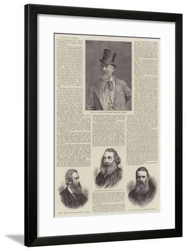 Punch's Jubilee--Framed Art Print
