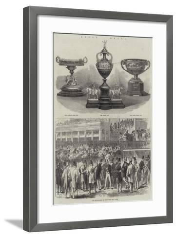 Ascot Races--Framed Art Print