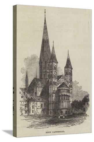 Bonn Cathedral--Stretched Canvas Print