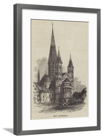 Bonn Cathedral--Framed Art Print