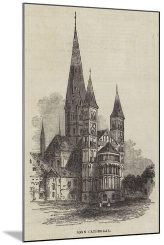 Bonn Cathedral--Mounted Giclee Print