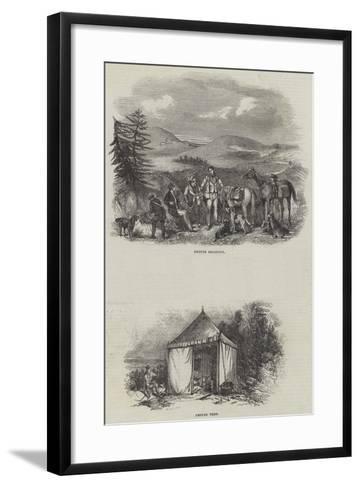 Grouse Shooting--Framed Art Print