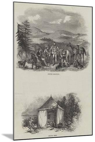 Grouse Shooting--Mounted Giclee Print