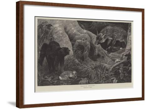 Thieves Meeting--Framed Art Print