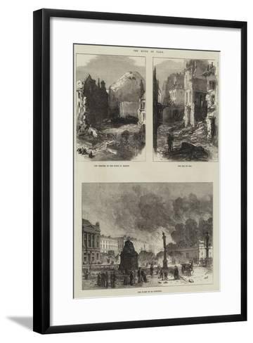 Paris Commune--Framed Art Print
