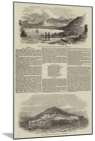 Kabylia--Mounted Giclee Print