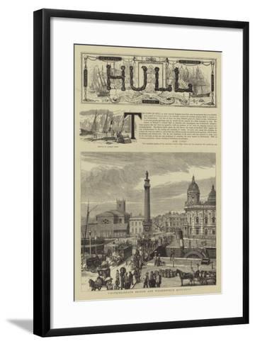 Hull--Framed Art Print