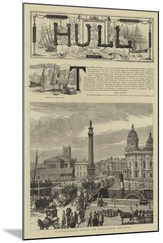 Hull--Mounted Giclee Print
