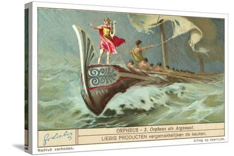Orpheus as One of the Argonauts--Stretched Canvas Print