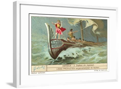 Orpheus as One of the Argonauts--Framed Art Print