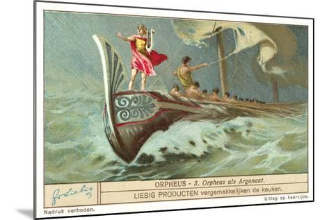 Orpheus as One of the Argonauts--Mounted Giclee Print