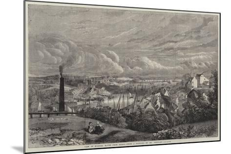 View of Milford Haven from Hakin--Mounted Giclee Print