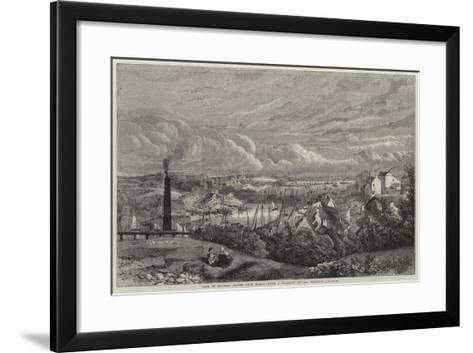 View of Milford Haven from Hakin--Framed Art Print