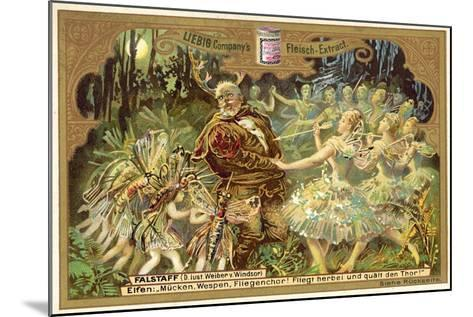 Falstaff Attacked by the Fairies--Mounted Giclee Print