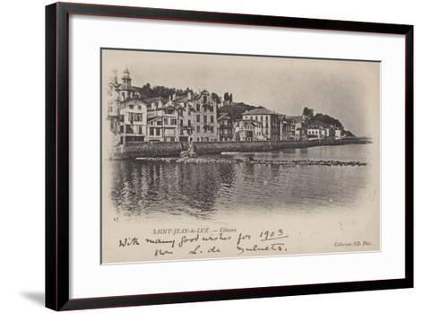 Saint-Jean-De-Luz, Ciboure--Framed Art Print